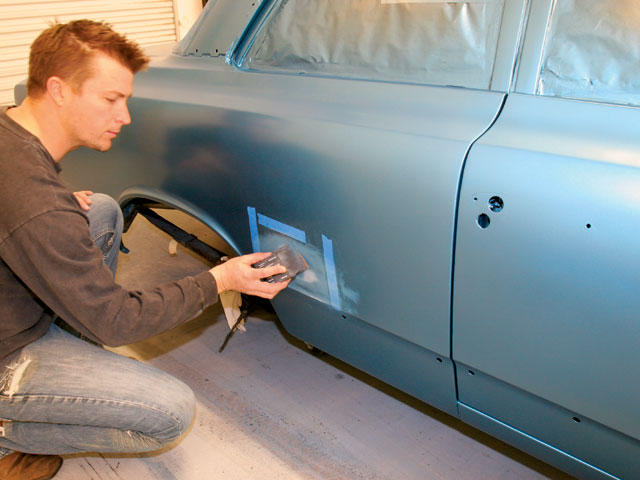 Как не сделать потеки на авто при покраске